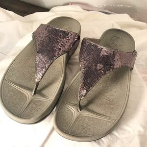 Fitflops Sequined Sandals